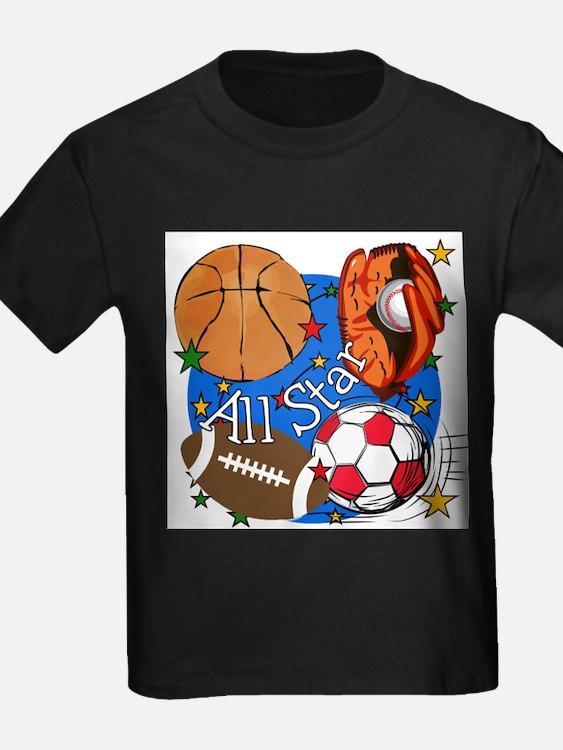 Kids sports t shirts cafepress for All star t shirts
