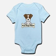 Personalized Jack Russell Infant Bodysuit