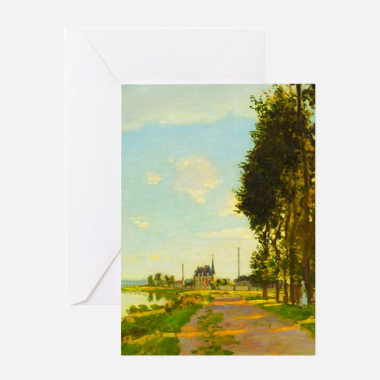 Argenteuil by Claude Monet Greeting Cards