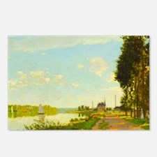 Argenteuil by Claude Monet Postcards (Package of 8