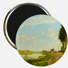 Argenteuil by Claude Monet Magnets
