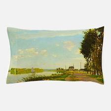 Argenteuil by Claude Monet Pillow Case