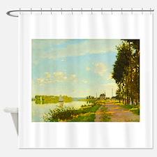 Argenteuil by Claude Monet Shower Curtain