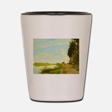 Argenteuil by Claude Monet Shot Glass