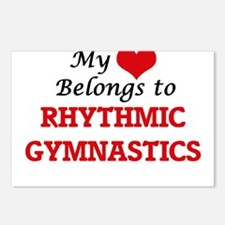 My heart belongs to Rhyth Postcards (Package of 8)