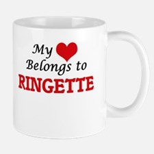 My heart belongs to Ringette Mugs