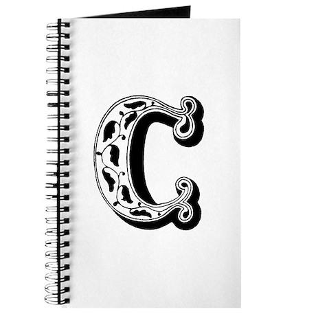 C-Decorative Letter Journal