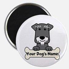 Personalized Mini Schnauzer Magnet