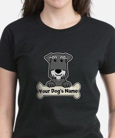 Personalized Mini Schnauzer Tee
