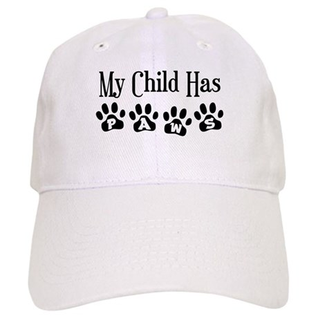 My Child Has Paws Cap