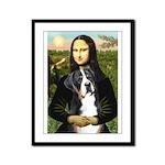 Mona / GSMD Framed Panel Print