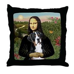 Mona / GSMD Throw Pillow