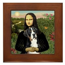 Mona / GSMD Framed Tile