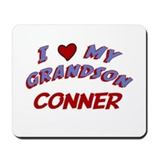 I Love My Grandson Conner Mousepad