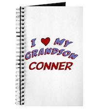 I Love My Grandson Conner Journal