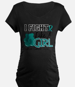 Licensed Fight Like A Girl 15.2 Maternity T-Shirt