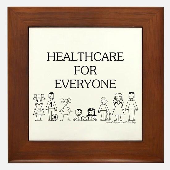 Healthcare 4 Everyone Framed Tile
