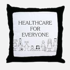 Healthcare 4 Everyone Throw Pillow
