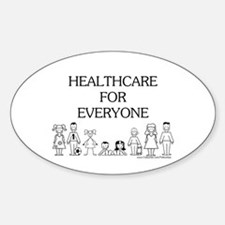 Healthcare 4 Everyone Oval Decal