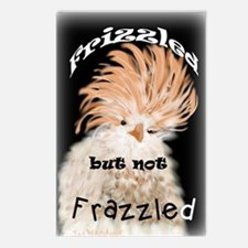 Frizzled But Not Frazzled Rooster Postcards (Packa