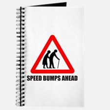 Funny road sign speed bumps a Journal