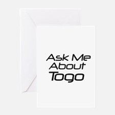 ask me about Togo Greeting Card