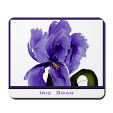 """Iris Swan"" Mousepad"