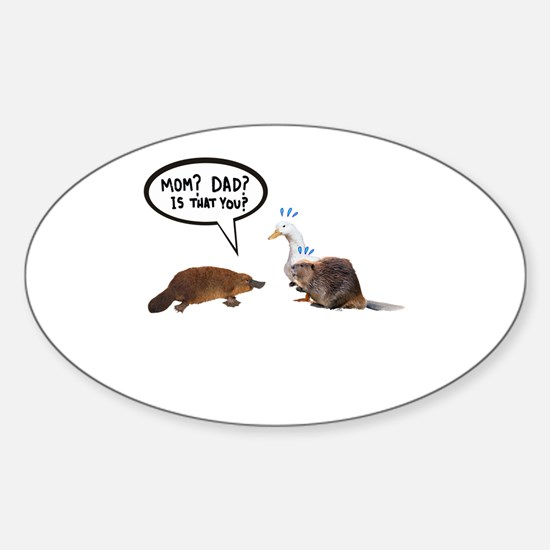 platypus awkward encounter Decal
