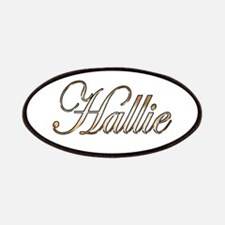 Gold Hallie Patch