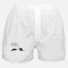 platypus awkward encounter Boxer Shorts