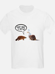 platypus awkward encounter T-Shirt