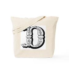 D-Decorative Letters Tote Bag