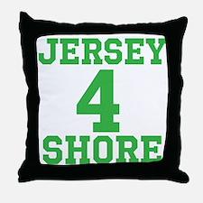 JERSEY 4 SHORE Throw Pillow