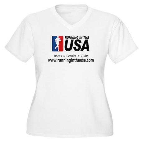 RUSA - Women's Plus Size V-Neck T-Shirt