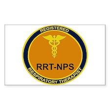 RRT-NPS emblem Rectangle Decal