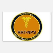 RRT-NPS emblem Rectangle Decal