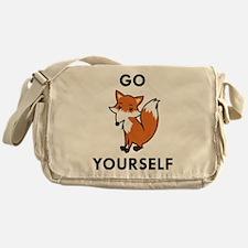 Go Fox Yourself Messenger Bag