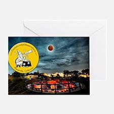 Cute Lunar eclipse Greeting Card
