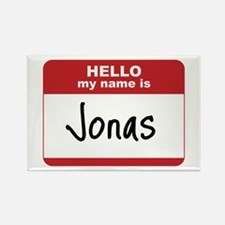 My Name Is Jonas Rectangle Magnet