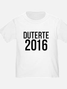 Duterte 2016 T-Shirt