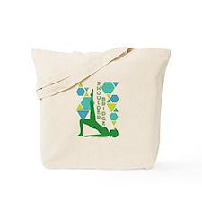 Pilates Shoulder Bridge Tote Bag