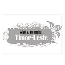 Cool Timor leste rocks Postcards (Package of 8)