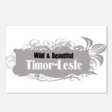 Funny Timor leste vacation Postcards (Package of 8)