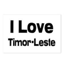 Timor leste rocks Postcards (Package of 8)