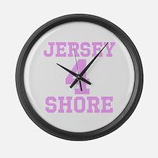 JERSEY 4 SHORE Large Wall Clock
