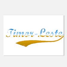 Timor-Leste beach flanger Postcards (Package of 8)