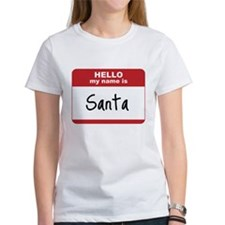 My Name Is Santa Tee