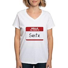 My Name Is Santa Shirt