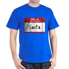 My Name Is Santa T-Shirt