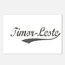 Timor-Leste flanger Postcards (Package of 8)